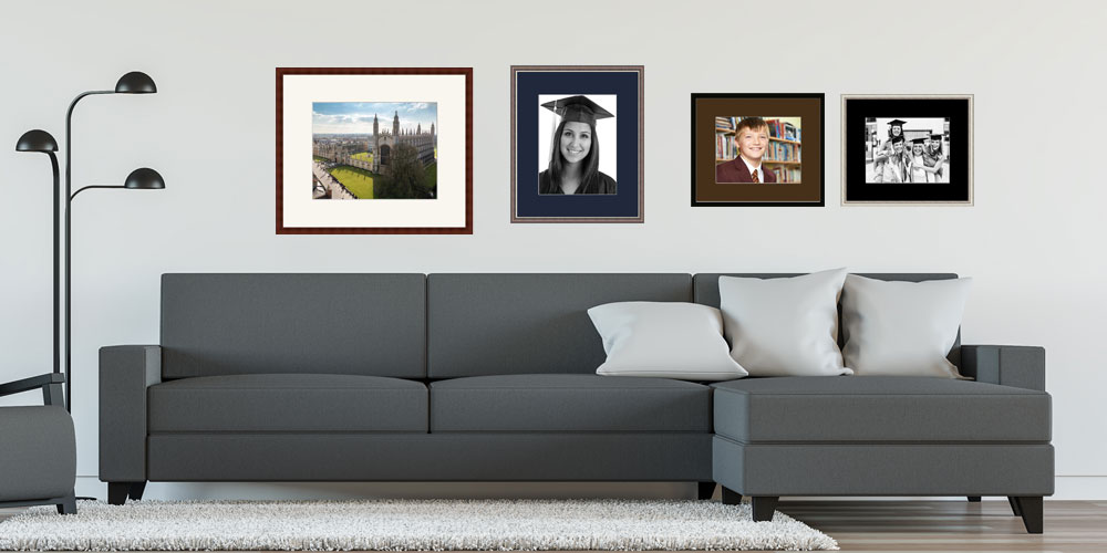 Photo Frames on a Wall